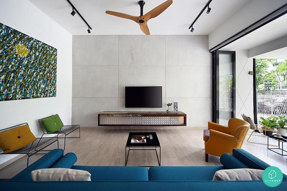 beautiful living room wooden ceiling fans singapore lighting shop singapore
