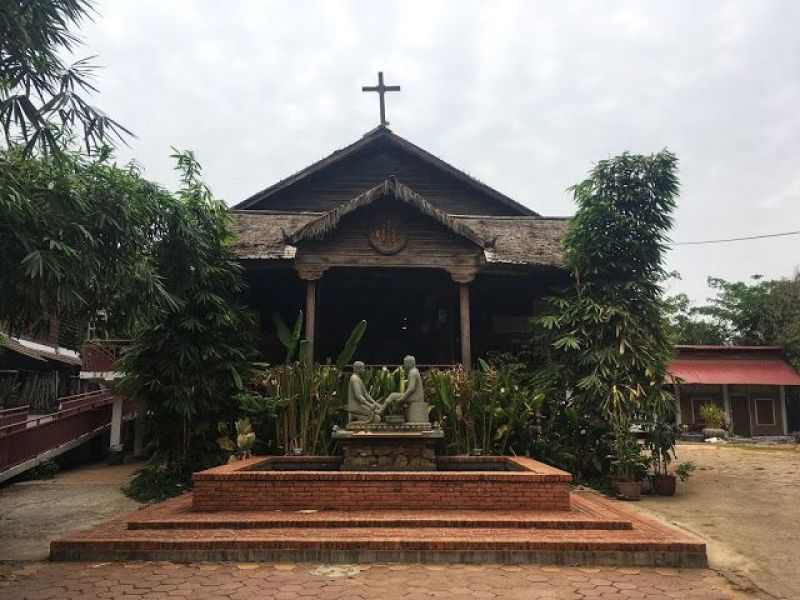 cambodia wedding venues - church