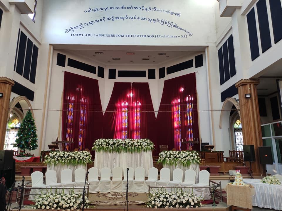 myanmar wedding venues chapel