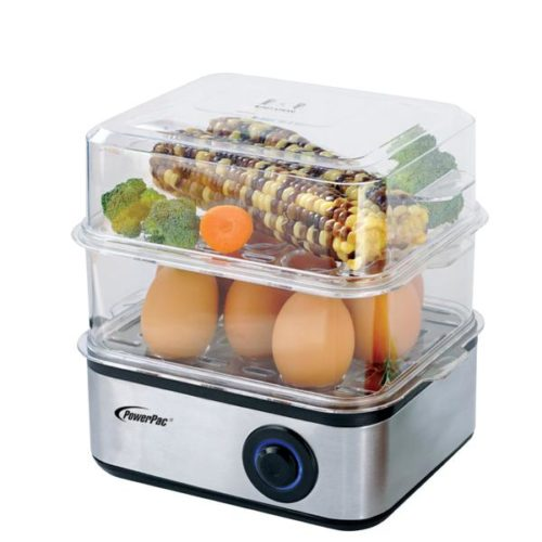 PowerPac 2.5L 2-Tier Food Steamer singapore PPS706