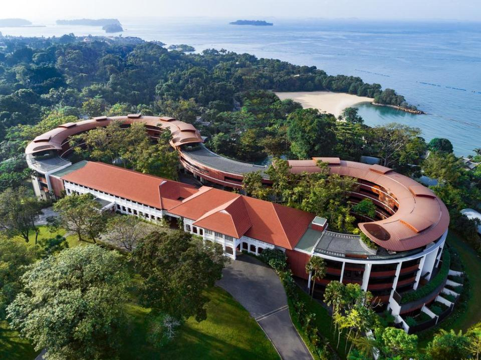 singapore honeymoon Capella Singapore