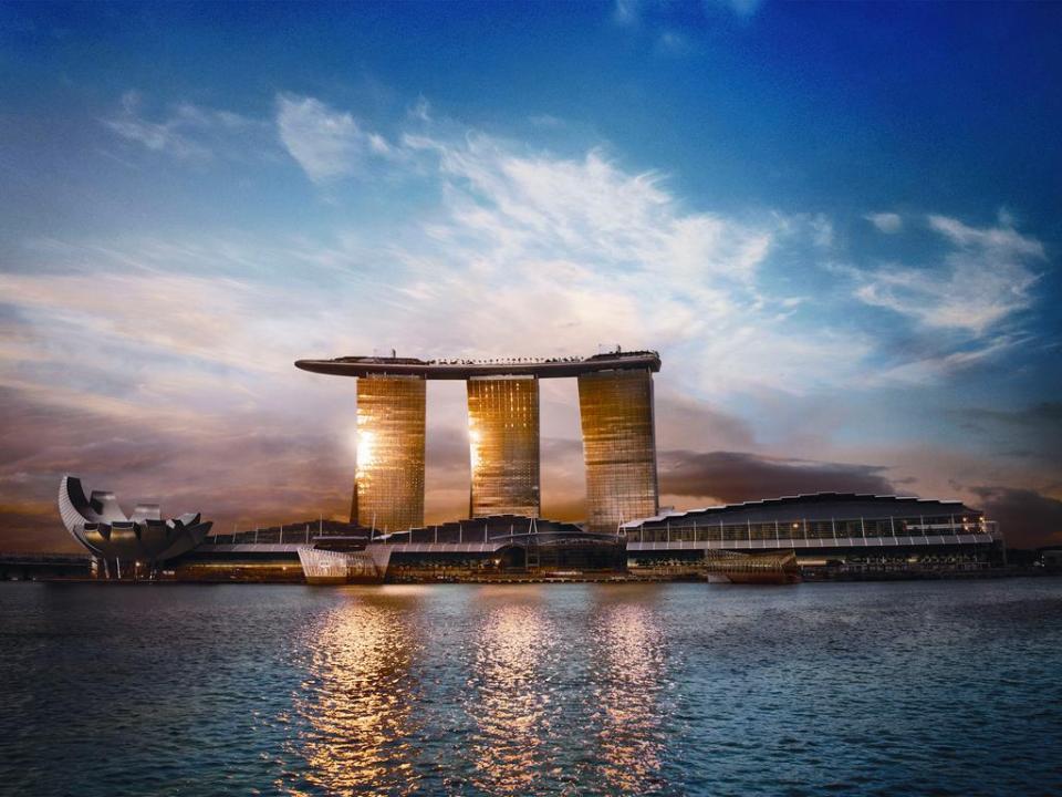 singapore honeymoon Marina Bay Sands