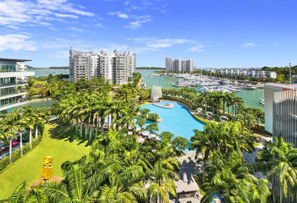 singapore honeymoon W Singapore - Sentosa Cove