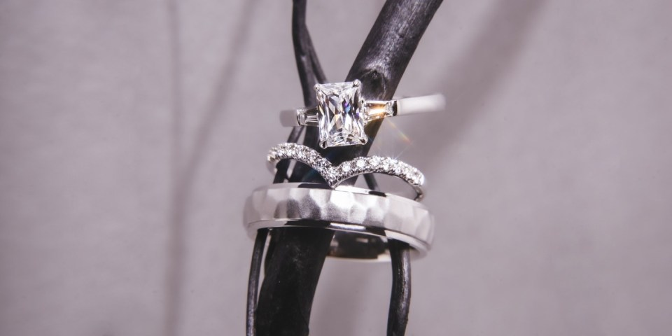 Tailored Jewel engagement rings