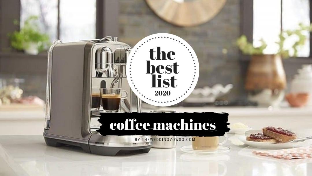 best coffee machines singapore