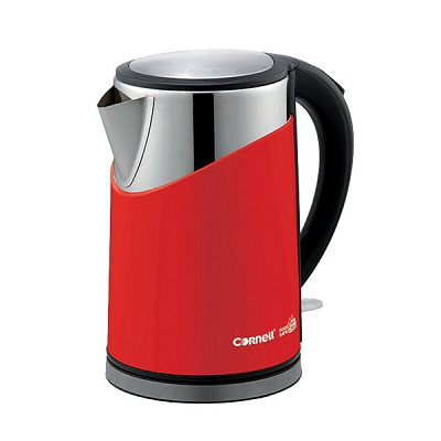 Cornell Cool Touch Stainless Steel cheap Kettle singapore, 1.8L [CJKP181]