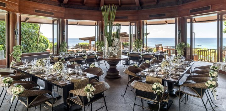 Shangri-La's Boracay Resort & Spa wedding venues philippines