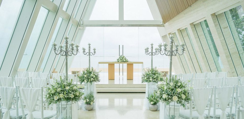 Infinity Chapel wedding venue Indonesia