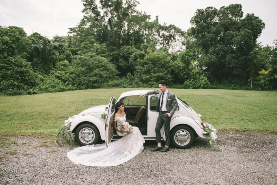 MiniBug Wedding Car Rental Singapore