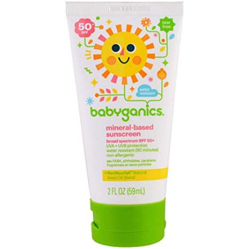 BabyGanics Mineral-Based Baby Sunscreen singapore SPF 50+