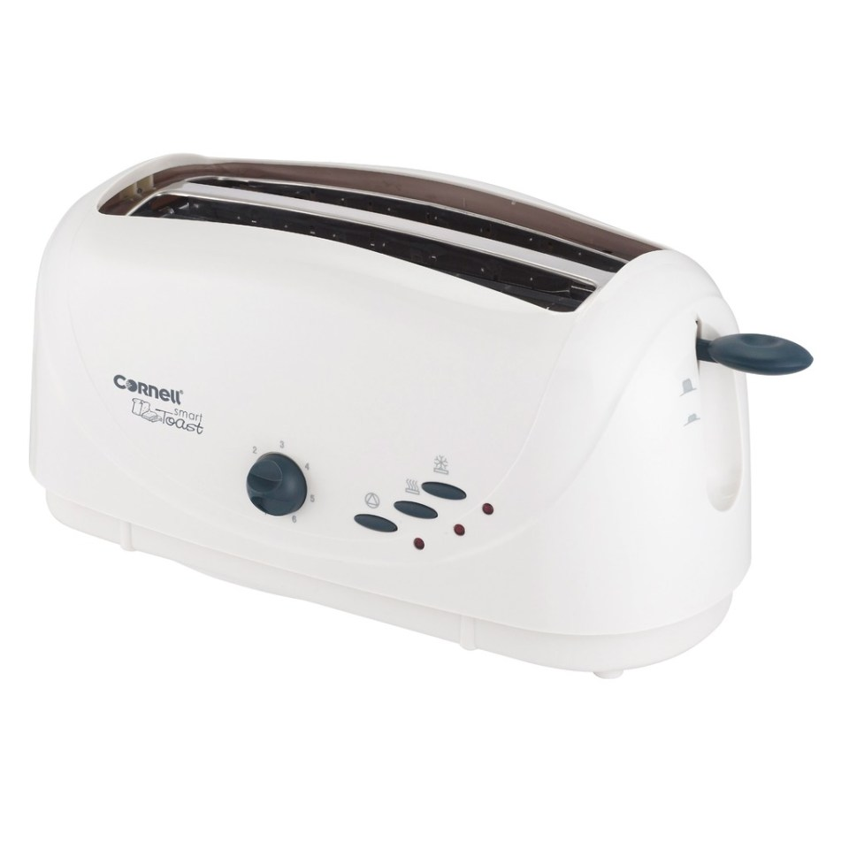 Cornell 4 Slice Pop Up Bread Toasters singapore 650W CT-E48C