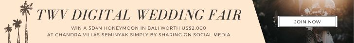 twv e-wedding fair leaderboard banner