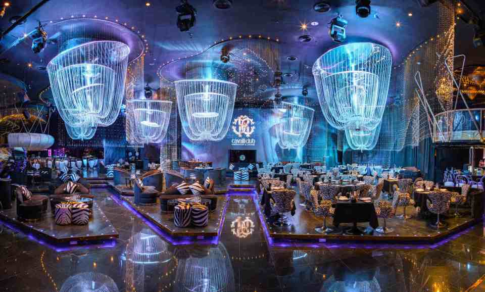 Cavalli Club Restaurant and Lounge wedding venes dubai