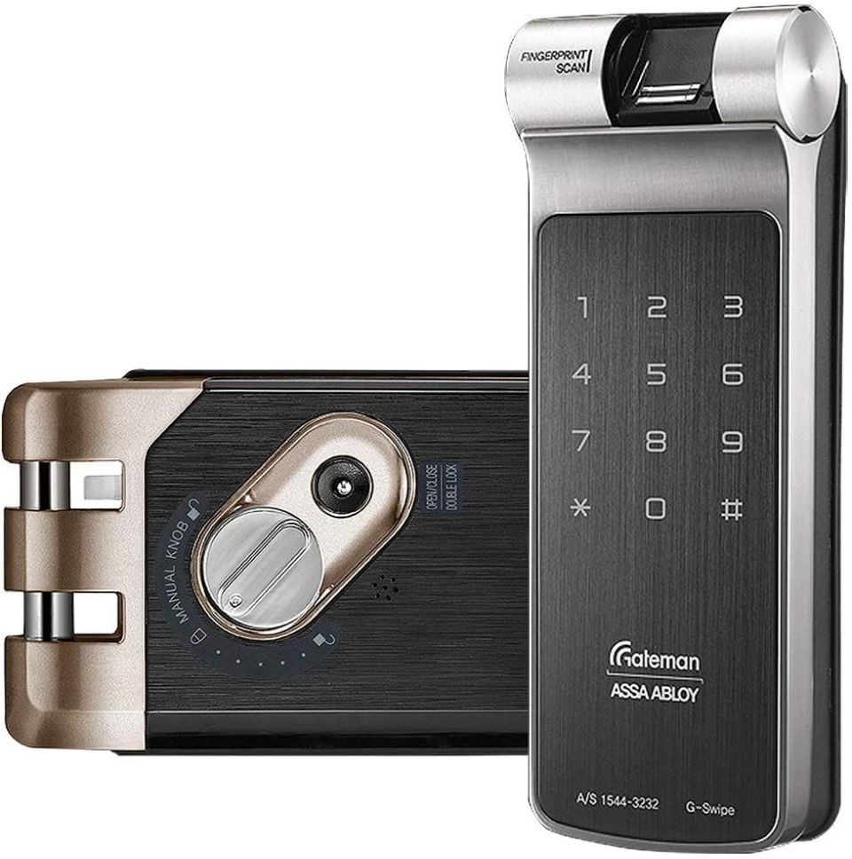 Gateman G-Swipe with Fingerprint Scanner