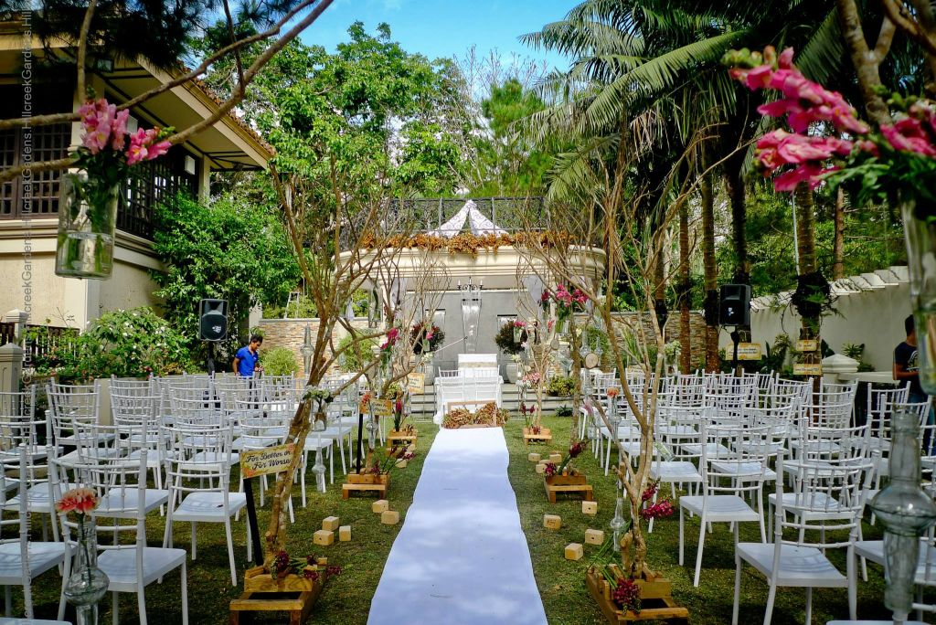 Hillcreek Gardens Tagaytay Wedding Venue