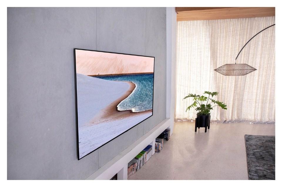 Latest best TV singapore Model 2020 Z10 OLED55GXPTA OLEDTVs Z10