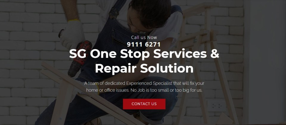 SG One Stop Services and Repair Solution - Handyman Services Singapore