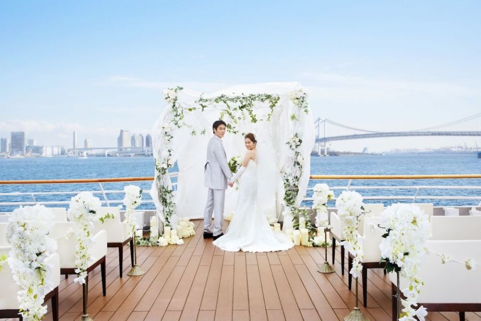 Symphony Cruise wedding venues japan