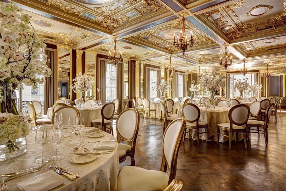 hotel cafe royal london wedding venues