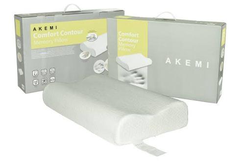 AKEMI Comfort Contour Memory Pillow singapore