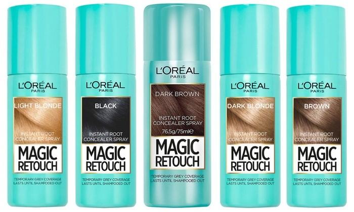 hair dye singapore - L'Oreal Paris Magic Retouch Instant Root Concealer Spray