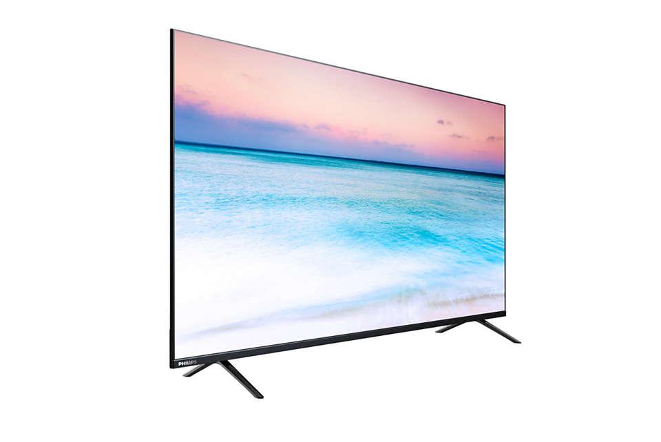 Philips 55 inch LED best SMART TV malaysia 4K UHD 55PUT6004