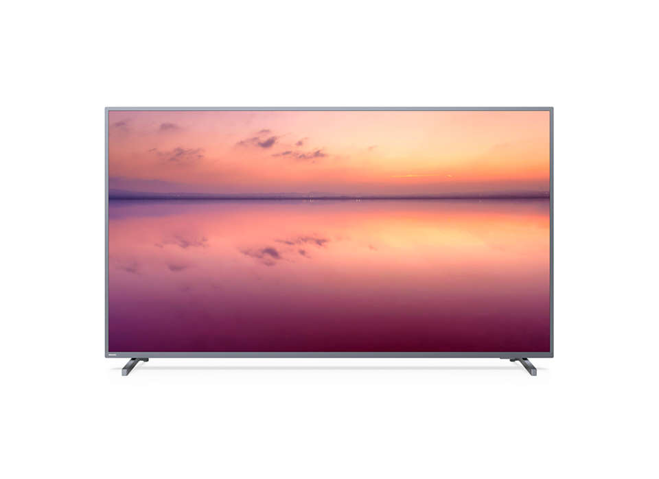 Philips 70 inch 4K UHD HDR LED best Smart TV malaysia 70PUT6774