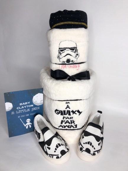 Star Wars Baby Diaper Cake