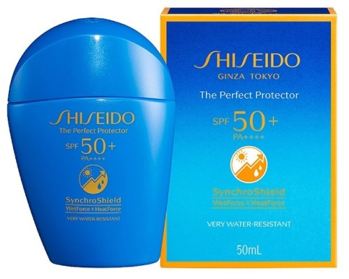 sunscreen - Shiseido Global Suncare The Perfect Protector SPF 50+ PA++++ (1)