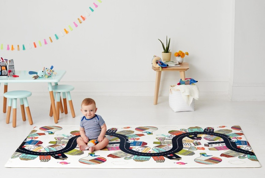 Skip Hop Double Play Reversible Playmat