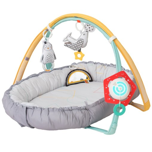 Taf Toys Musical Newborn Nest & Gym baby beds singapore