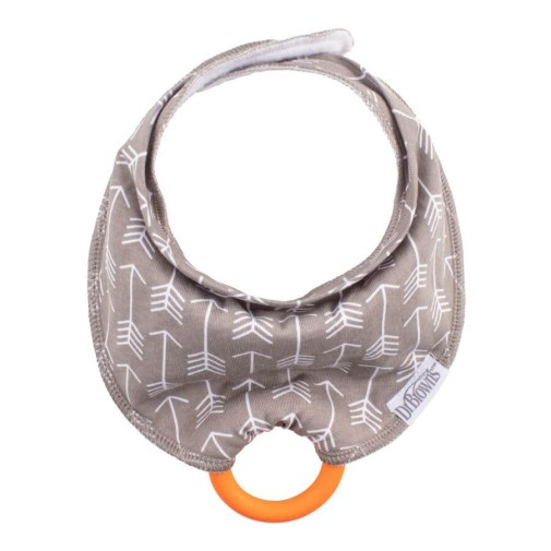 Brown's Bandana with Snap-On Teether