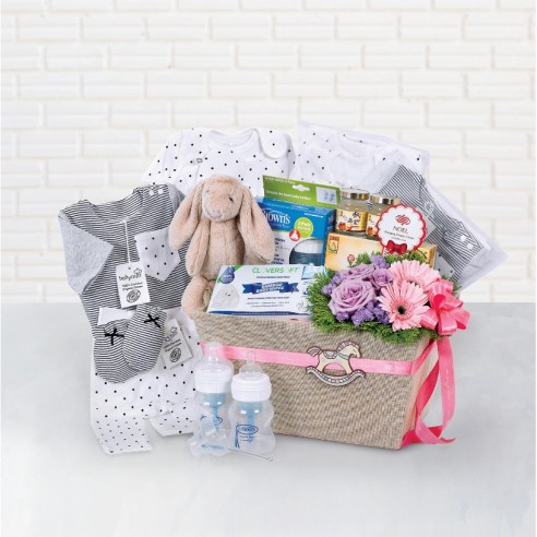 baby hampers organic-chic