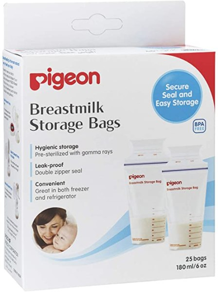 breastmilk storage singapore Pigeon Breastmilk Storage Bags (25 Bags)