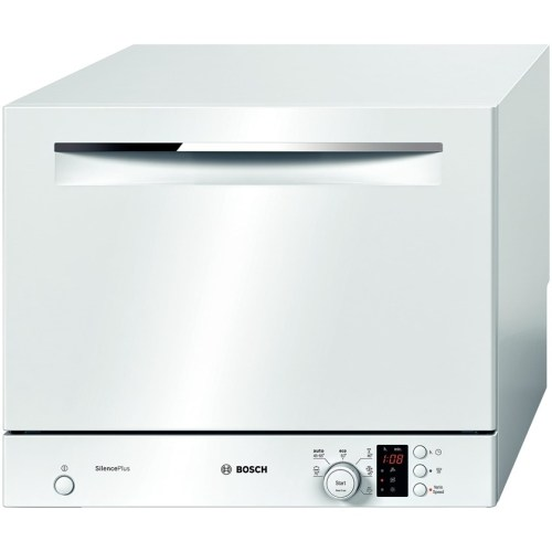 dishwasher singapore BOSCH 55CM FREESTANDING WHITE COMPACT DISHWASHER SKS62E22EU