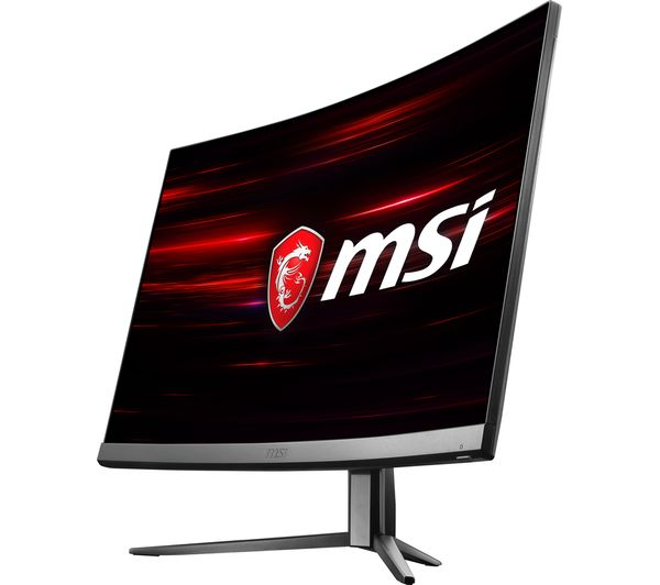 MSI curved gaming monitor
