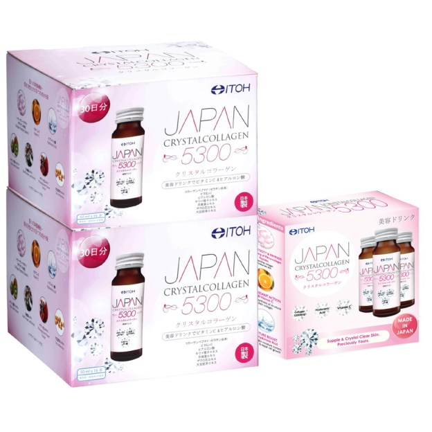 Itoh Hanako Japan Crystal Collagen Supplements Drink
