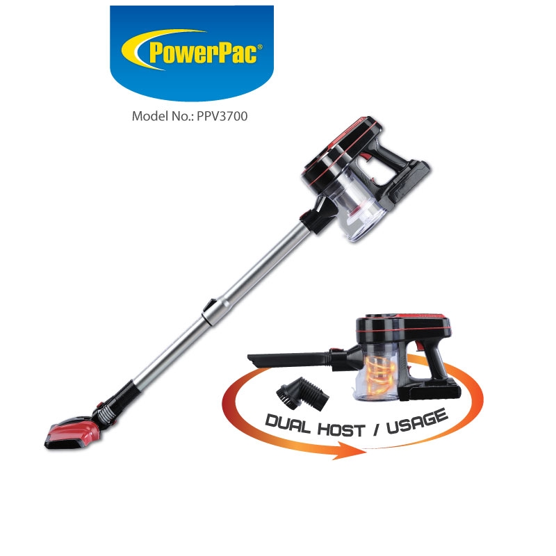 PowerPac Cordless Cheapest Vacuum Cleaner Singapore PPV3700