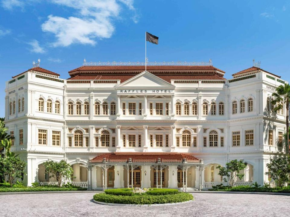 Raffles Singapore Best Staycation Singapore