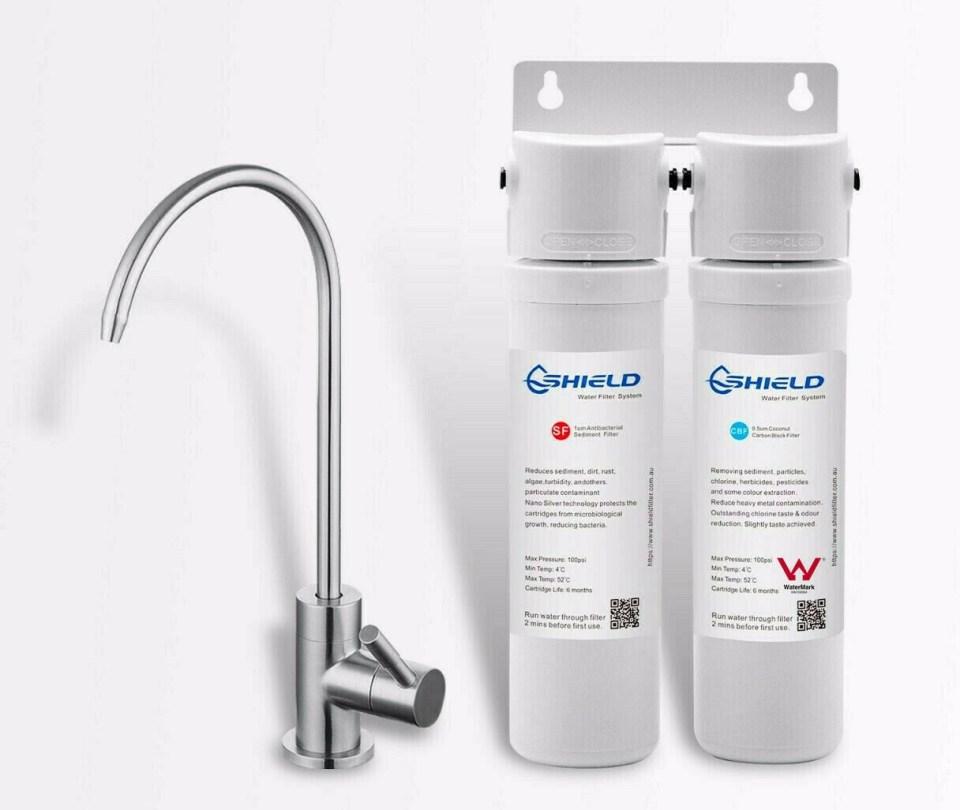 Shield Twin Undersink Water Filter Australia