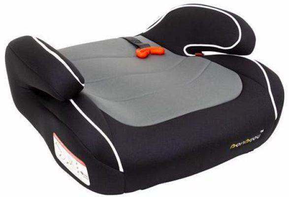 booster seat singapore_Bonbijou Junior Booster Seat+ (Grey : Red)