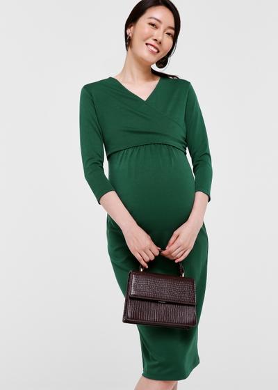 Twyla Bodycon wrap dress
