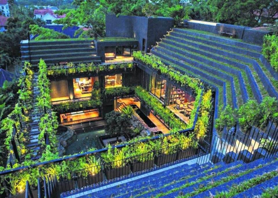 Hawaii Landscape - Roof Garden