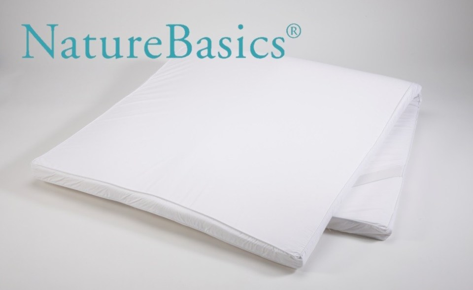 Nature Basics 100% Latex best mattress Toppers Singapore