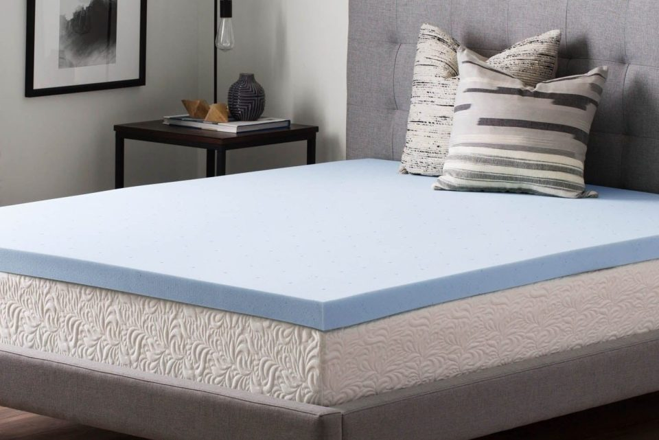 Origin Cooling Gel Memory Foam Mattress Topper