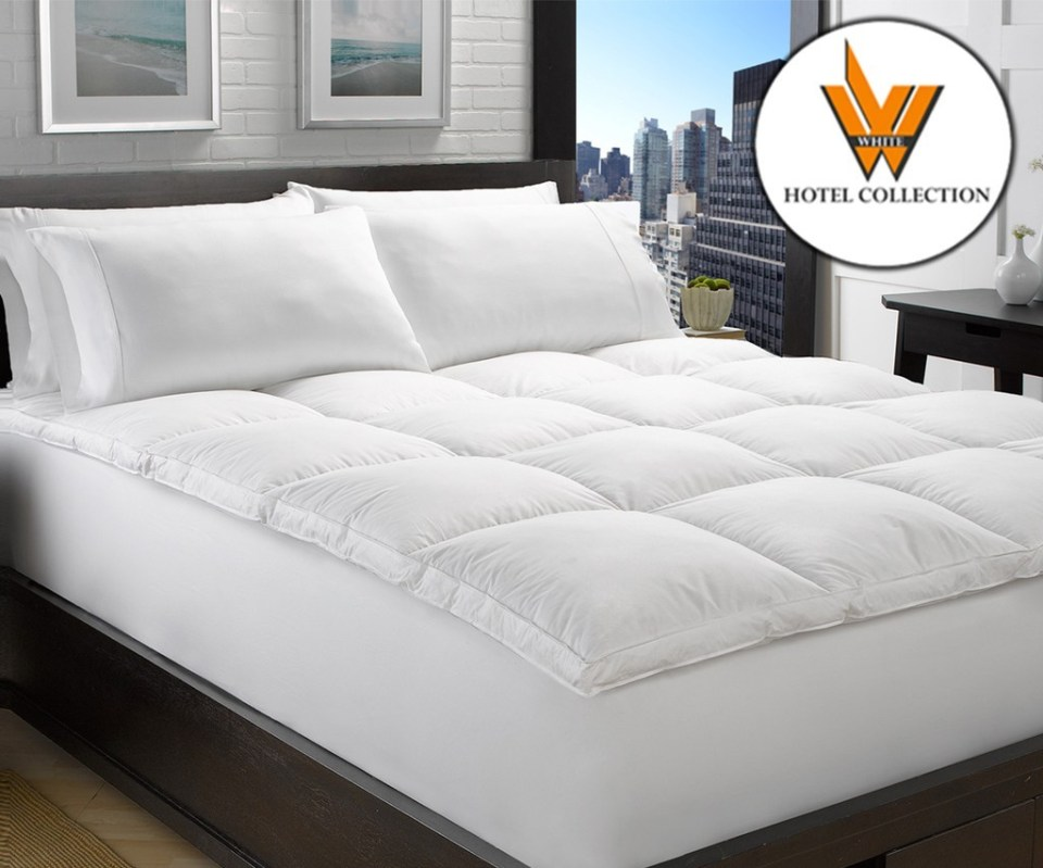 WHC Hotel Mattress Topper singapore Down Alternative Fiber