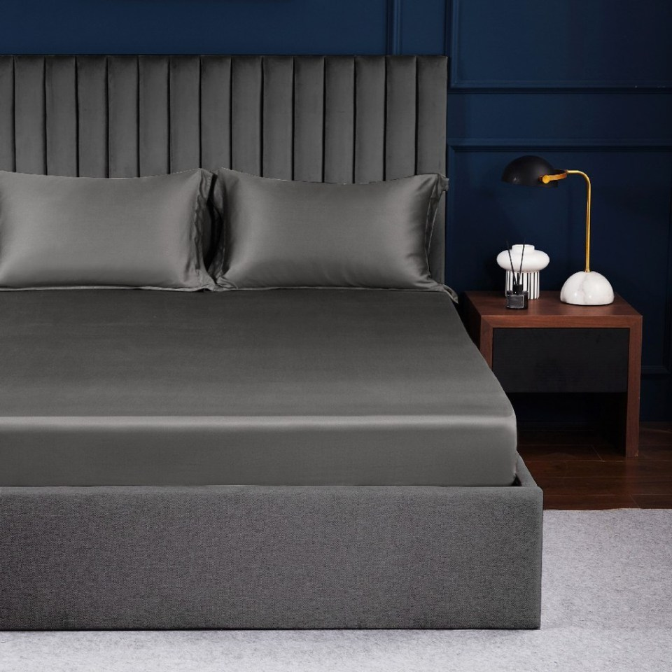 Palais Suite TENCEL™ Imperial Gray Fitted bedsheet