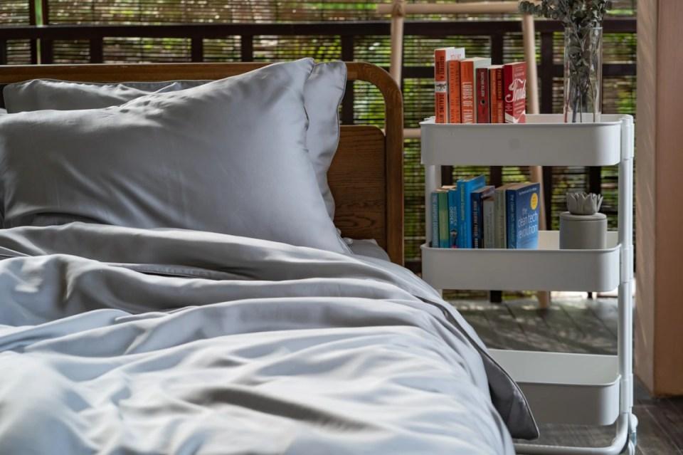 Weavve Lyocell Bed Sheets Deluxe Set