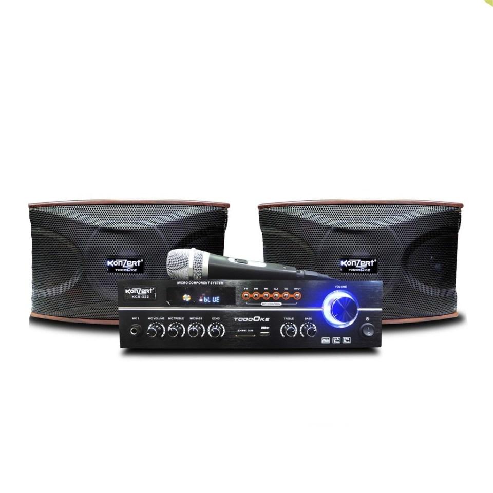 Konzert KCS-222 Karaoke Amplifier & Speaker 1