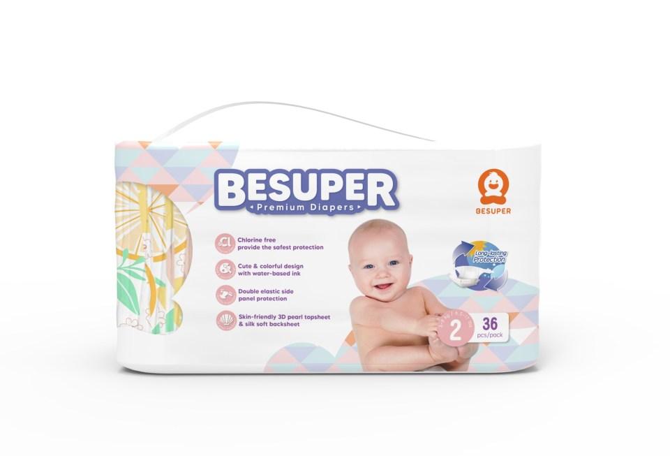 Baby Express Besuper Tape Diaper